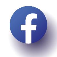 Icône Facebook bleu