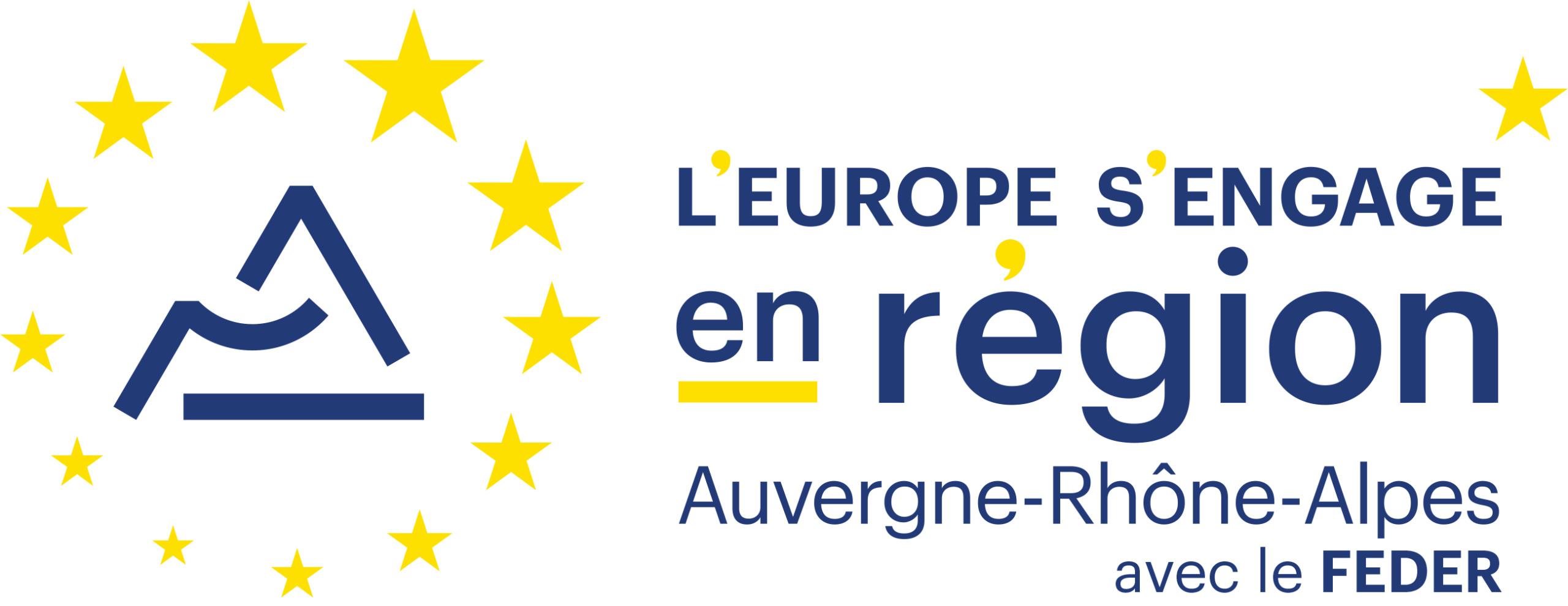 Logo l\'Europe s\'engage en région