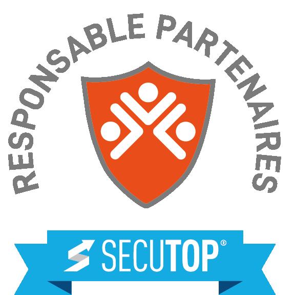 Logo responsable partenaires orange