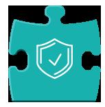 Pièce puzzle représentant la partie contrôle et vérification