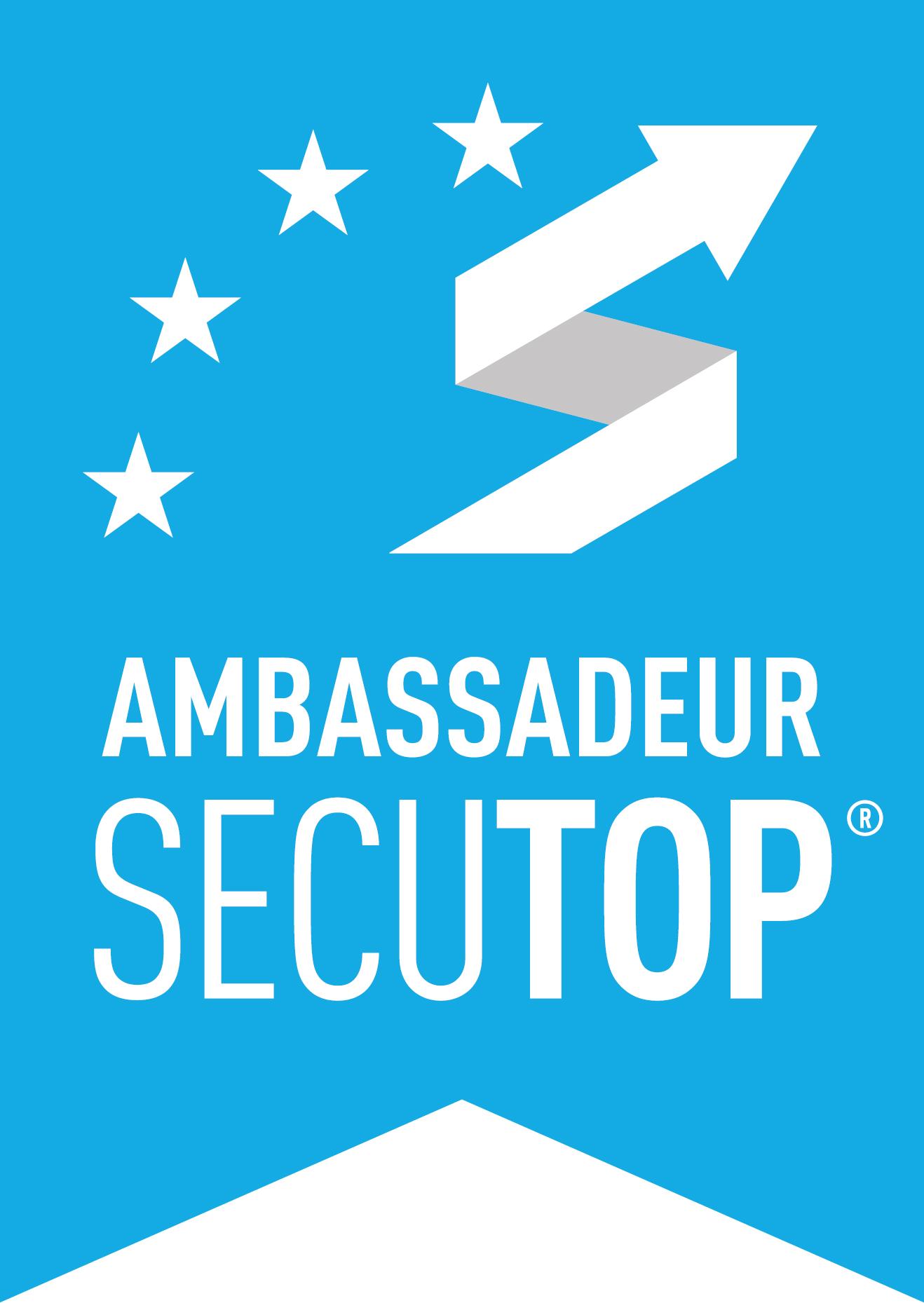 Logo ambassadeur Secutop