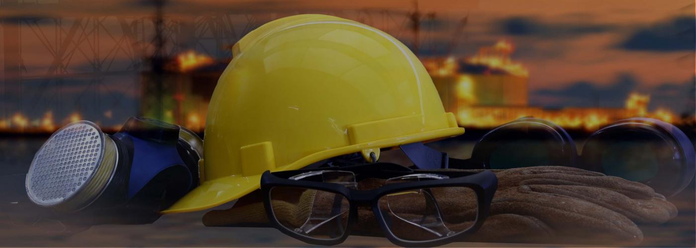 casques et équipements de travail