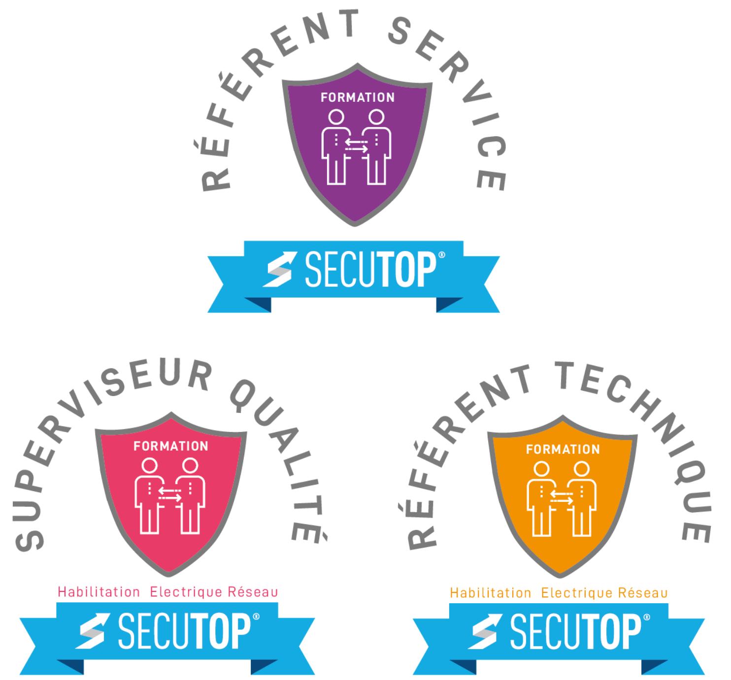 Référents métier : service, technique et qualité