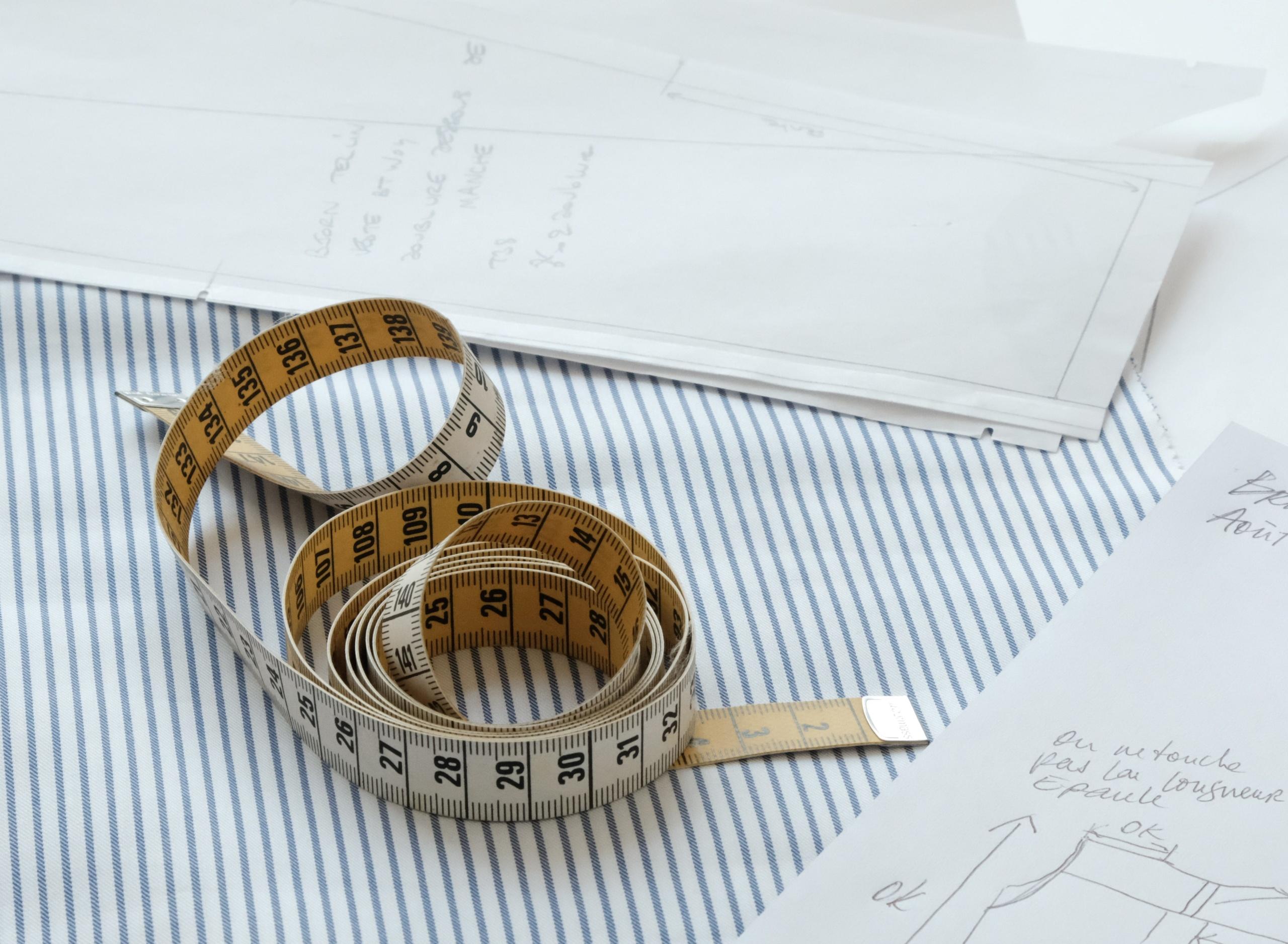 Format sur mesure : représentation d\'un mètre pour mesurer
