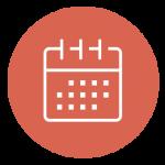 Dessin d\'un calendrier qui représente une bonne organisation