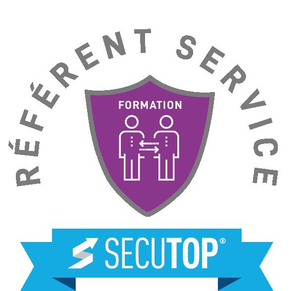 logo référent service violet
