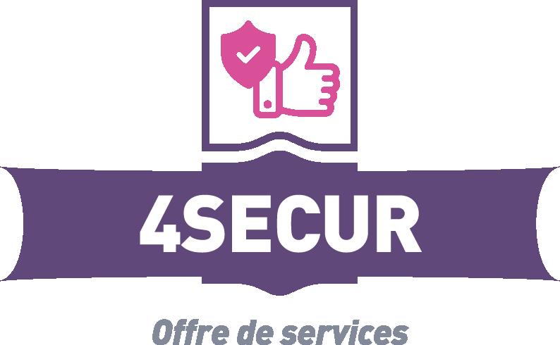 Logo et cartouche 4secur